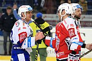 Konec utkání - Martin Erat, Petr Hubáèek.
