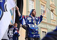 Peter Trška se dobrovolnì zlil pivem
