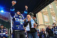 Martin Za�ovi� a obchodn� mana�er Starobrna Pavel Slavik